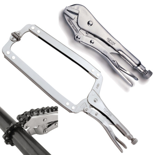 Jaw Locking and Clamping Pliers